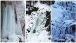 Люті морози скували кригою п'ять водоспадів на Прикарпатті: дивовижні фото