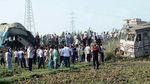 Вагони пасажирського потяга зіткнулися з товарним в Єгипті: десятки загиблих