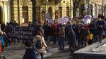 Во Львове прошли феминистский марш и антифеминистский пикет