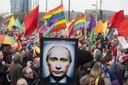 Український ЛГБТ, фемен та інший модернізований комуністичний двіж починає все більше подобатись
