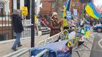 Лондонские активисты вышли на митинг против российской власти