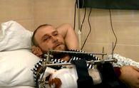 Ярош вперше після поранення заговорив на камери