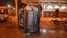 У Харкові водій позашляховика спровокував ДТП, в якій розбились 7 машин