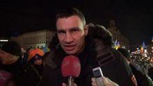 Украинцы, с вами честен только Виталий Кличко
