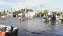 В Аргентине сильные наводнения