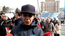 """""""Не вбивайте ATR"""" – Джамала та інші активні кримські татари мітингували на Майдані"""