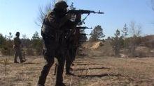 Грузинські та ізраїльскі інструктори навчають українських міліціонерів на Луганщині