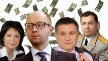Доходы украинских министров — в инфографике