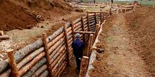 Харьковская область продолжает укреплять границу с Россией