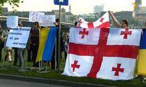 Другий день саміту у Ризі розпочався з протестів українців та грузинів