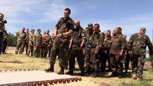 Защитникам Славянска установили мемориальную доску