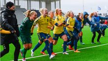 Датские футболистки выложили откровенное фото из раздевалки (+18)