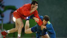 Європейські ігри: білоруський самбіст виніс з килиму на руках свого суперника