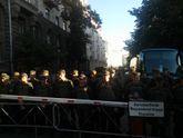 Кілька тисяч націоналістів рушили до Верховної Ради із шинами