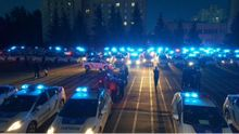 Первые патрульные машины с мигалками выехали на службу в Киеве