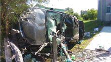 Іномарка влетіла у ворота церкви: загинув молодий водій