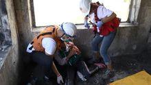 """Червоний Хрест """"переніс"""" волонтерів у справжній блокбастер"""