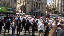 Польские фанаты в Киеве не дают покоя милиции