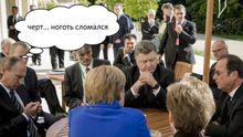 Реакція соцмереж на зустріч Порошенка, Путіна, Олланда і Меркель у Парижі