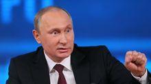 """Российский телеканал """"перепутал"""" Путина с Гитлером"""