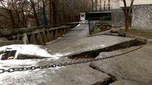 У Києві багатоповерхівка може піти під землю