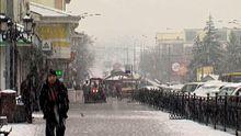 На Западной Украине бушует непогода