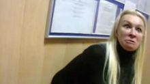 Україна хвора, — блондинка, яка влаштувала погром у райвідділку
