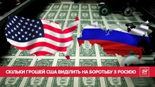 Штати проти Росії: скільки грошей витрачають США на боротьбу з агресором (Інфографіка)
