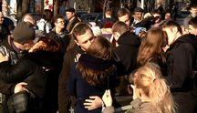 Найдовший поцілунок: у Запоріжжі закохані пари влаштували флешмоб