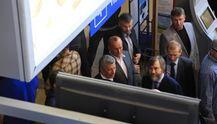 """Фотофакт: в аеропорту Одеси заблокували членів """"Опозиційного блоку"""""""