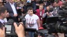 Не дайте мені скурвитися, — перша промова Савченко на Батьківщині