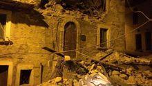 Потужний руйнівний землетрус у Італії: багато людей під завалами