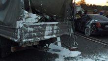 Страшна ДТП під Львовом: загинув працівник дорожньої служби