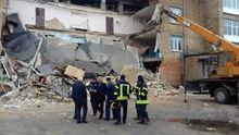 З'явилися нові фото обвалу в школі у Василькові