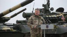 Порошенко анонсировал коренные изменения в армии уже с конца октября