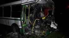 Смертельное ДТП на Донбассе: БТР протаранил автобус с рабочими