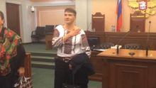 """""""Слава Україні"""" у Верховному суді РФ: як Савченко поговорила з Карпюком і Клихом"""