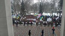 Под Радой снова неспокойно: пенсионеры МВД выдвинули требования