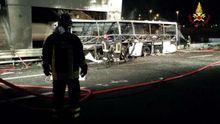 Автобус с туристами попал в аварию в Италии. Очень много погибших