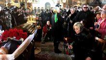 Первые фото и видео с церемонии  прощания с экс-депутатом Госдумы Вороненковым