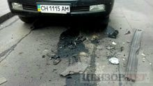 В центре Киева взорвали джип
