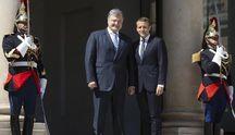 Перша зустріч Порошенка і Макрона: результати переговорів