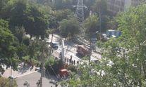 У Києві потужний вибух автомобіля: перші фото