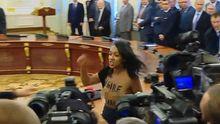 Активистка FEMEN обнажила грудь перед Порошенко и Лукашенко: суд вынес решение