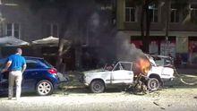 Вибух авто в  центрі Одесі: з'явилися перші відео