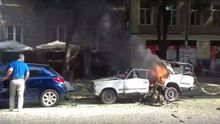 Взрыв авто в центре Одессе: появились первые видео