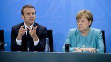 Макрон и Меркель сделали громкое заявление относительно прекращения огня на Донбассе