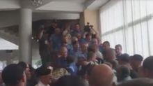 Люди Вілкула влаштували бійку з бійцями АТО у Кривому Розі: опубліковано відео