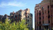 Разруха и ад на земле: как сейчас выглядят окрестности оккупированного Донецкого аэропорта