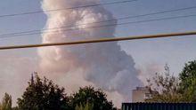 В окупованому Донецьку спалахнула серйозна пожежа